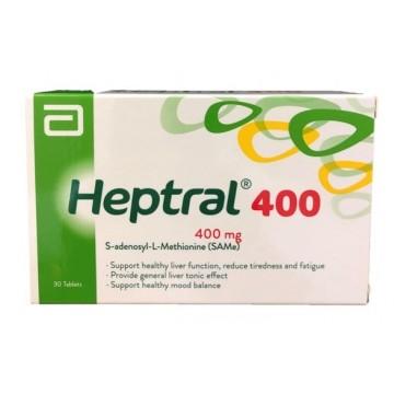 HEPTRAL 400MG TAB 30S
